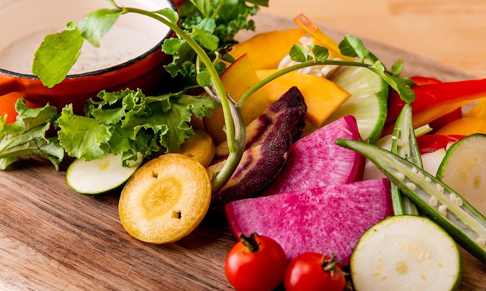 横浜地野菜の盛り合わせ -バーニャカウダソース-